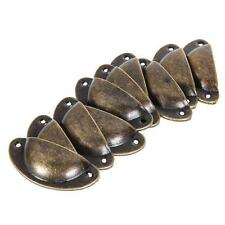 10 Pcs Antique Door Kitchen Cabinet Knob Drawer Drawer Bin Shell Cup Pull Handle