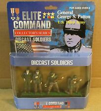 General George S. Patton U.S. Third Army Military DieCast Soldier Figurine NEW