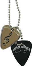 Grover Allman Necklace treble clef Plektren-cadena