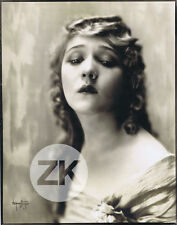 MARY PICKFORD Hollywood Portrait Photographer NELSON EVANS Oversize Photo 1920s