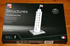 Block Tech Structures LEANING TOWER PISA 521 Piece Architecture NEW Lego Compat