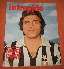 """Libri/Riviste/Giornali """" INTREPIDO """" Franco Causio / N°13 / Anno 1976"""