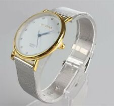 Fashion Women's Ladies Watches Crystal Stainless Steel Analog Quartz Wrist Watch