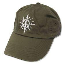 JOSS STONE! PEACE GREEN BASEBALL HAT CAP NEW RARE