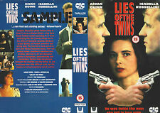 Lies Of The Twins, Aidan Quinn Video Promo Sample Sleeve/Cover #11694