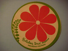 BEER Coaster  *  HOLIDAY INN Hotel ~ SINGAPORE ~ See STORE for 1000s More Items+