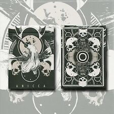 Anicca Deck (Silver) by Card Experiment Poker Spielkarten