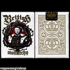 British Monarchy Henry VIII Deck Playing Cards Poker Size USPCC Custom Limited