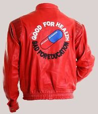AKIRA KANEDA Leather Jacket with Capsule & text, Manga by Katsuhiro , ALL SIZES