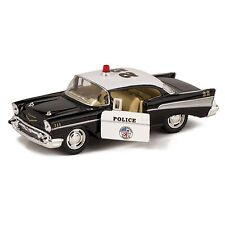 1957 Bel Air Die Cast Police Car Toy with Pull Back Action 1:40 5inch Long