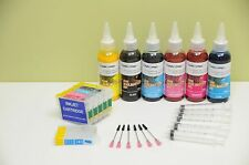 INKXPRO REFILLABLE Sublimation INK CARTRIDGE KIT FOR EPSON 1400 ARTISAN 1430
