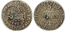 Poland-Lithuania - AR ½ groschen 1548  XF!!!