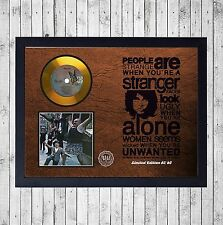 THE DOORS STRANGE DAYS CUADRO CON GOLD O PLATINUM CD EDICION LIMITADA. FRAMED
