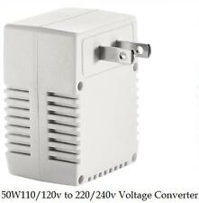 Smart US TRAVEL VOLTAGE CONVERTER 120V/110V TO 240V/220V Up to 50 WATT 50HZ