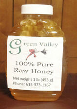 1lb 100% PureTennessee Raw Wildflower Honey (unfiltered) with a piece of comb
