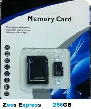 Smartphone Micro SD Memory Card 256GB Windows iOS Android TF Card With Package R