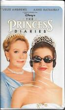"""Disney's """"The Princess Diaries"""" -- VHS Classic -- 2001 -- Clamshell Case"""