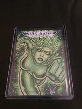 JUSTICE LEAGUE CRYPTOZOIC FEMALE SKETCH BY ?