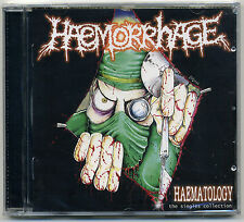 Haemorrhage - Haematology: The Singles Collection CD Goregrind Carcass Repulsion
