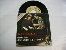 "LIZA MINNELLI - NEW YORK NEW YORK - 7"" VINYL EXCELLENT 1977 ITALY PRESS"