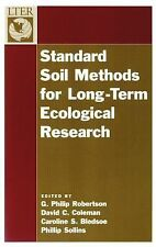 The Long-Term Ecological Research Network: Standard Soil Methods for...