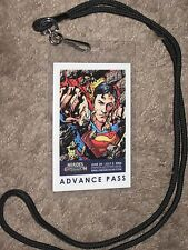 SUPERMAN Heroes Con/Convention ADVANCE Badge~Marvel/Movie BRYAN HITCH Art