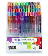 LolliZ Gel Pens 100 Gel Pen Tray Set NEW!
