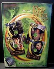 The Lord of the Rings: The Fellowship of the Ring 4 CD Cardz 2002 New!!