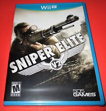 Sniper Elite V2 Nintendo Wii U *Factory Sealed! *Free Shipping!