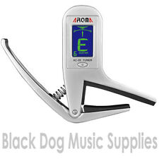 Quality Clip on chromatic guitar tuner / Capo electric, acoustic & bass