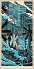 "Blade Runner ""Tears in the Rain"" Print Poster by Mondo Artist Tim Doyle S/N /500"