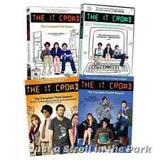 The IT Crowd: Complete TV Series Seasons 1 2 3 4 Box / DVD Set(s) NEW!