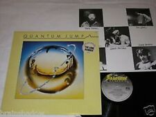 QUANTUM JUMP same LP Electric Rec. UK 1976 INSERT SYNTH POP