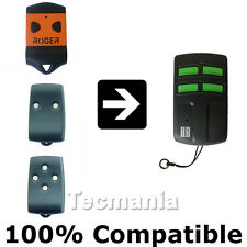 ROGER TX22 / TX12 / TX14 Replacement Garage Gate Remote Control Fob New
