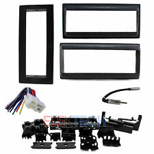 Chevrolet Single Din/ISO Pocket Radio Dash Kit & Wire Harness & Antenna Adapter