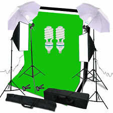 Studio photo vidéo Case soft Softbox lampe éclairage continu stand set kit