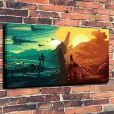 "Art Quality Canvas Print Oil Painting Star Wars Episode VII  A4040,16""x28"""