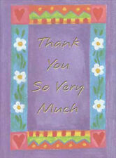 Thank You Very Much - Packaged Thank You Note Cards by PS Greetings