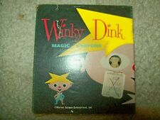 Vintage 1950s Winky Dink Magic Crayons - Near Mint in Original Box