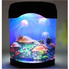 Creative LED Artificial Jellyfish Aquarium Lighting Fish Tank Night Light Lamp