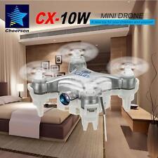 Cheerson CX-10W 4CH 6-Axis Wifi FPV RTF RC Quadcopter +0.3MP Camera Silver U7D3