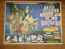 SEX PISTOLS - GREAT ROCK & ROLL SWINDLE - MOVIE - QUAD - POSTER - PUNK