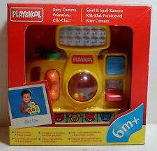 PLAYSKOOL VTG 1995 EUROPEAN BUSY CAMERA BABY ACTIVITY TOY MIP UNUSED