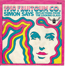 "7"" - 1910 FRUITGUM CO -   SIMON SAYS / REFLECTIONS FROM THE LOOKING GLASS"
