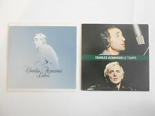 || LOT CD Single Collector - Port 0€ || AZNAVOUR : 2 CD PROMOS