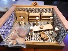 Gioco vintage in legno di un Drogheria componibile, Azienda SEVI