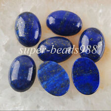 Free shipping Lapis Lazuli Gemstone Oval Cabochon CAB 5PCS 13x18MM Jewelry SN740