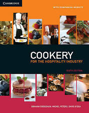 NEW Cookery for the Hospitality Industry By Graham Dodgshun Paperback