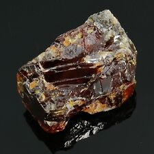 "SPHALERITE Rough Natural Red Orange 34.9 grams 1.41"" w/ Healing Property Card"