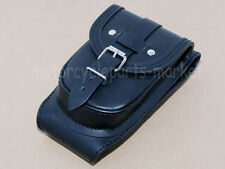 Leather Tank Cover Panel Pad Strap Bib Bra For Harley SPORTSTER XL 883 1200 Iron